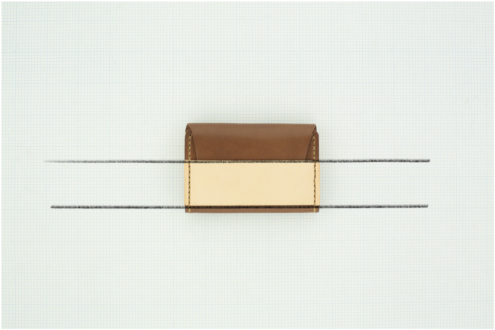 mino leather parallel cardholder math
